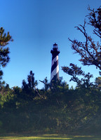 Cape Hatteras Light in the Woods