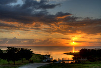 Sunset on Pamlico Sound